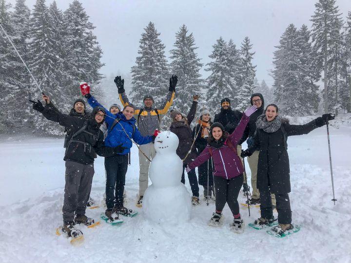 EC Snowshoeing Trip!